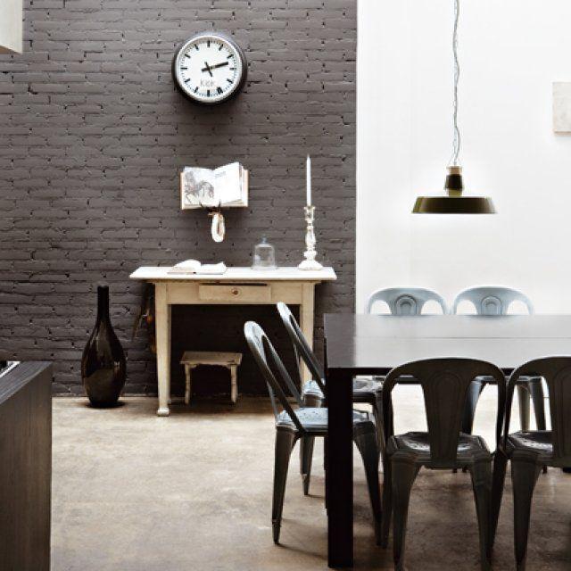 20 inspirations pour une cuisine noire et blanche Cuisine design