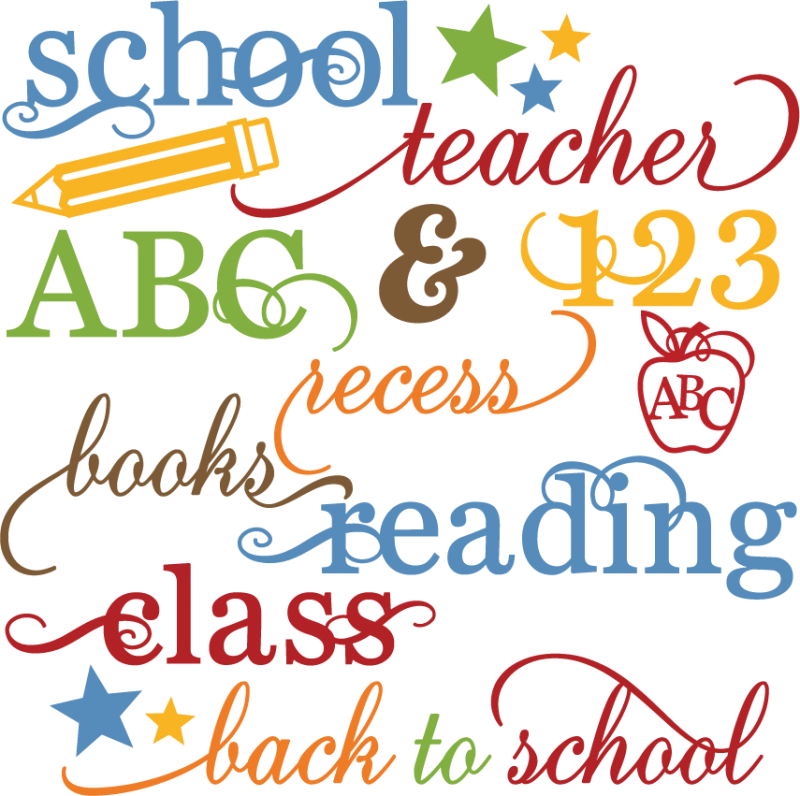 Résultats de recherche d'images pour «``school words»
