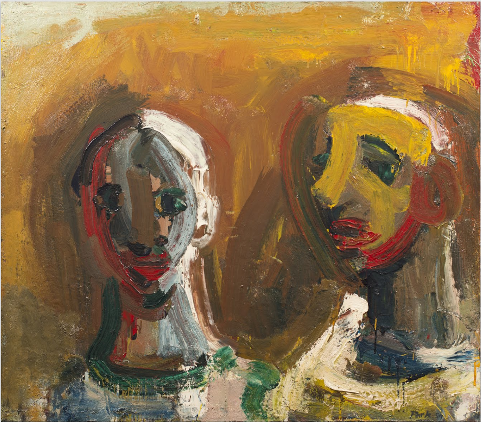 David Park (USA 19111960)Double Portrait (1959)oil on