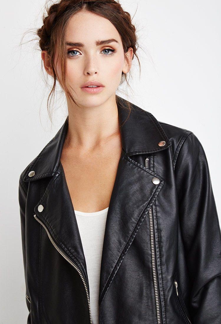 Faux Leather Moto Jacket Faux Leather Moto Jacket Black Vegan Leather Jacket Vegan Leather Moto Jacket [ 1101 x 750 Pixel ]