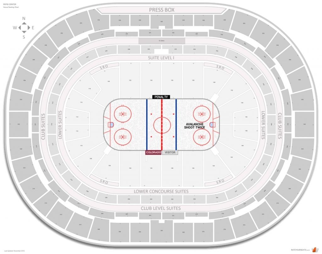 The Awesome Colorado Avalanche Seating Chart