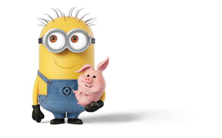 Download Wallpapers Despicable Me 3 2017 Minions Kevin