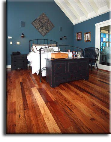 Wormy Chestnut Flooring From Appalachian Woods Wormy