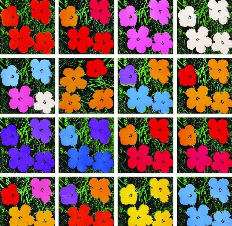 The Story Behind Andy Warhol's Flowers #andywarhol