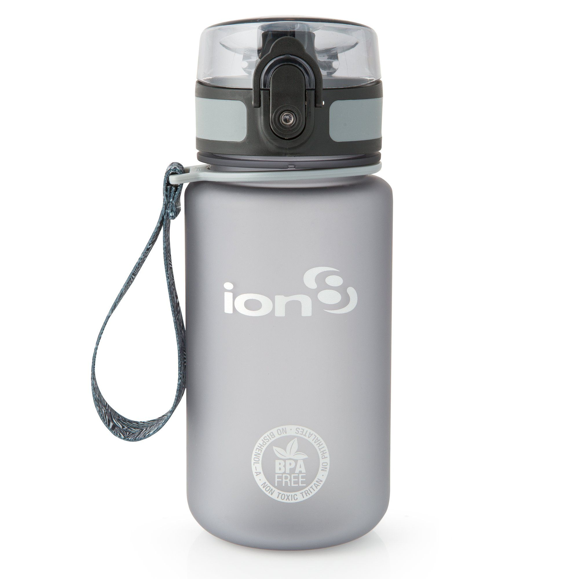 Ion8 Leak Proof Slim Water Bottle 18oz 500ml BPA Free