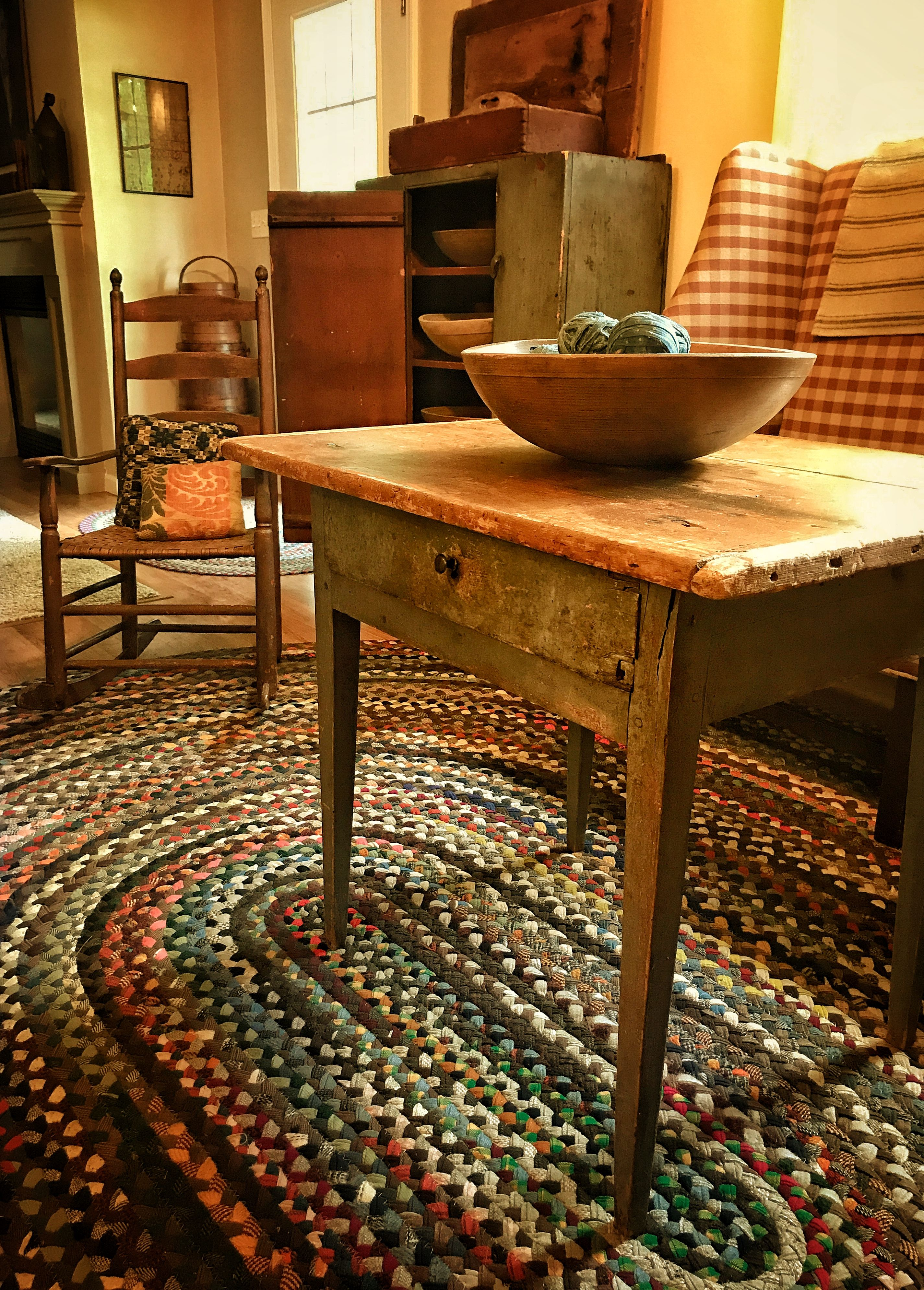 Early Collections Dinning Room Primitive Rugs Primitive Homes