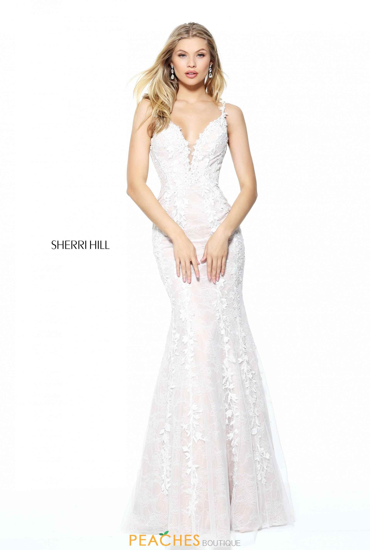 Sherri Hill Long Fitted Dress 50938