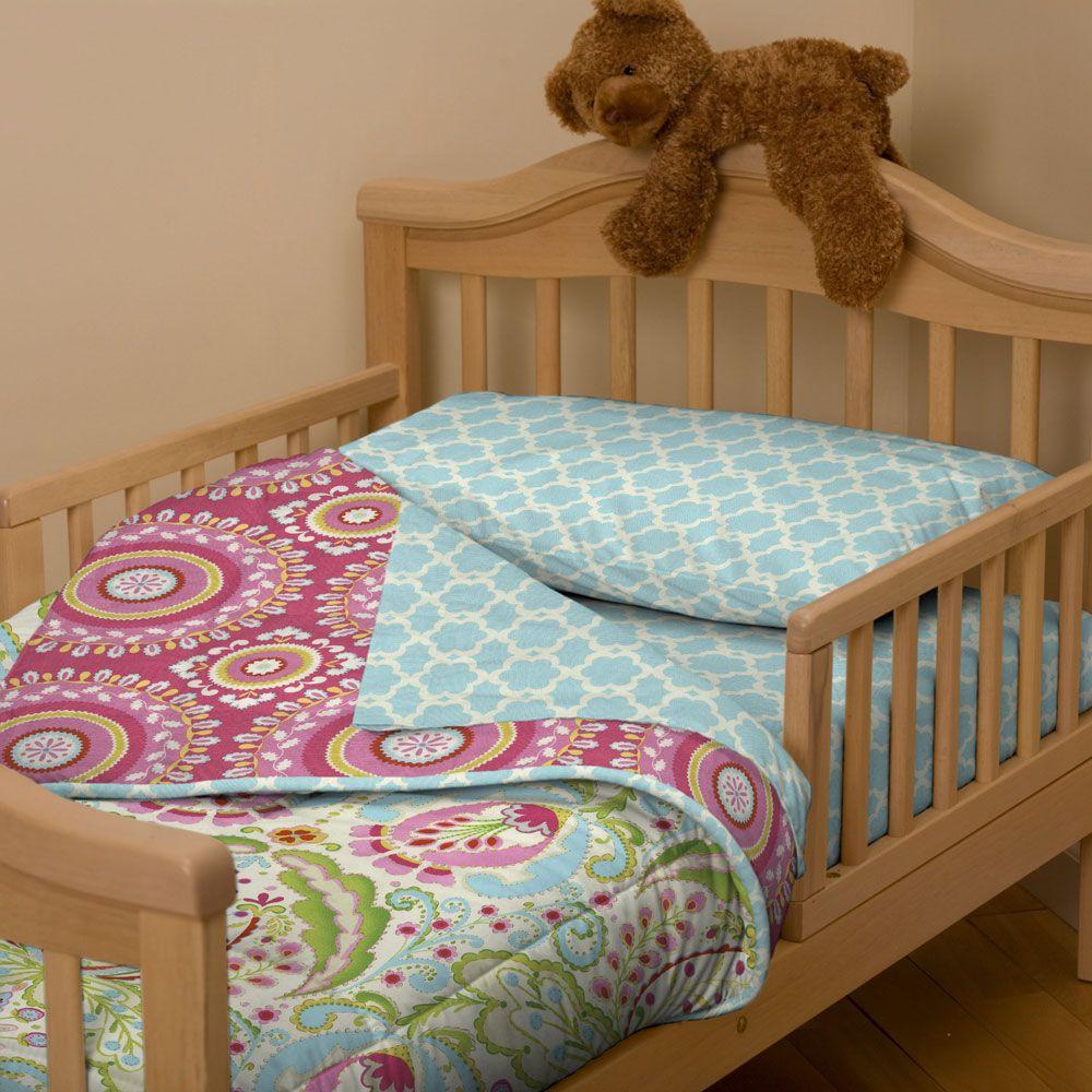 Kumari Garden Toddler Bedding   Toddler bed, Carousel designs and ...