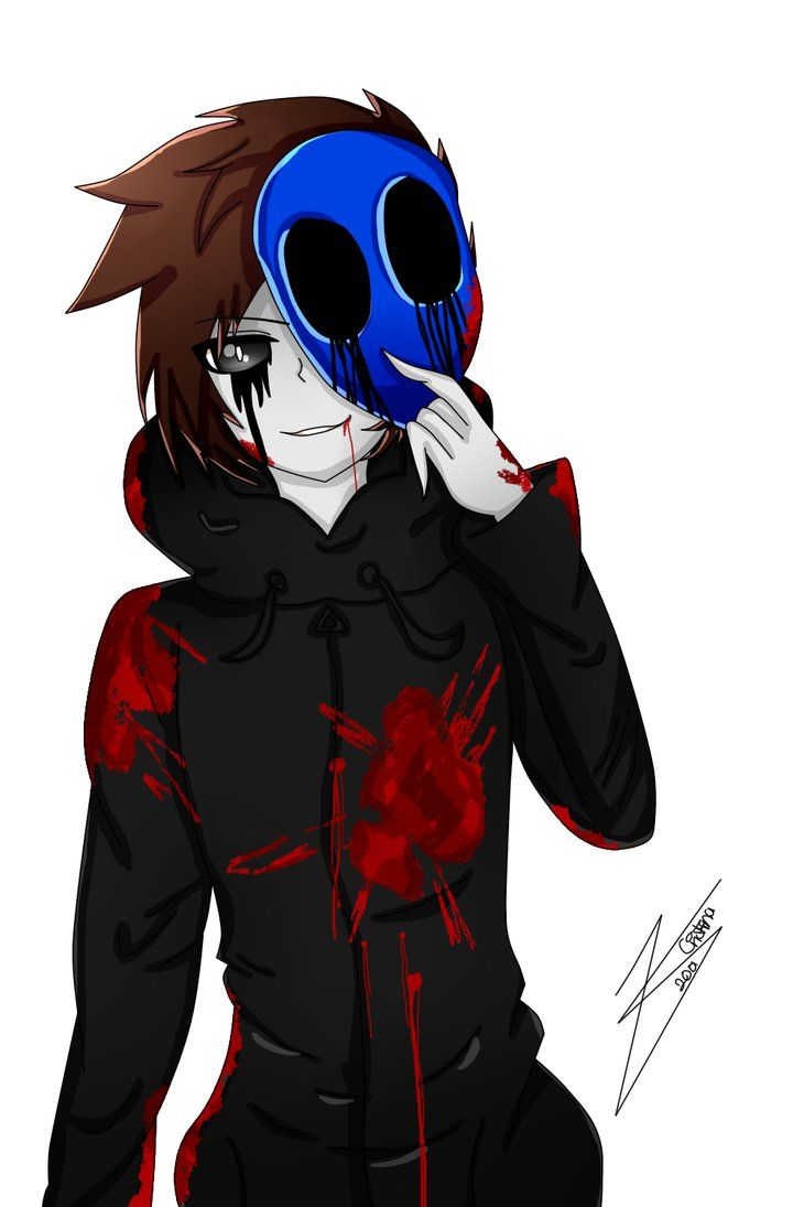 Eyeless Jack Anime Render By Cristinamedrano With Images