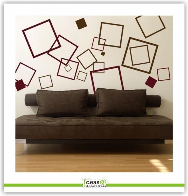 cuadrados ide kamar tidur dinding desain on wall stickers stiker kamar tidur remaja id=93747