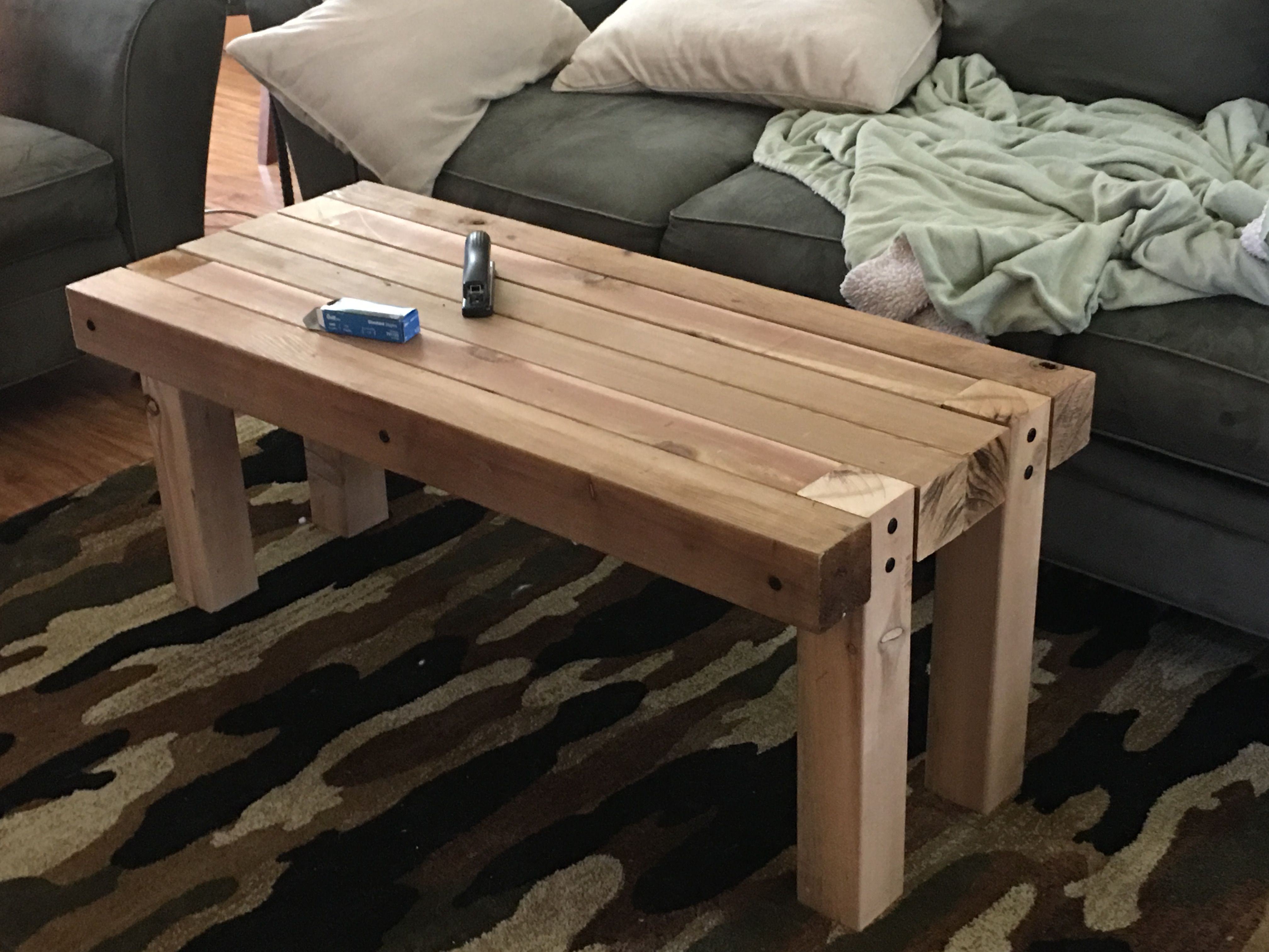 Coffee Table Cedar 4x4 S Coffee Table Legs