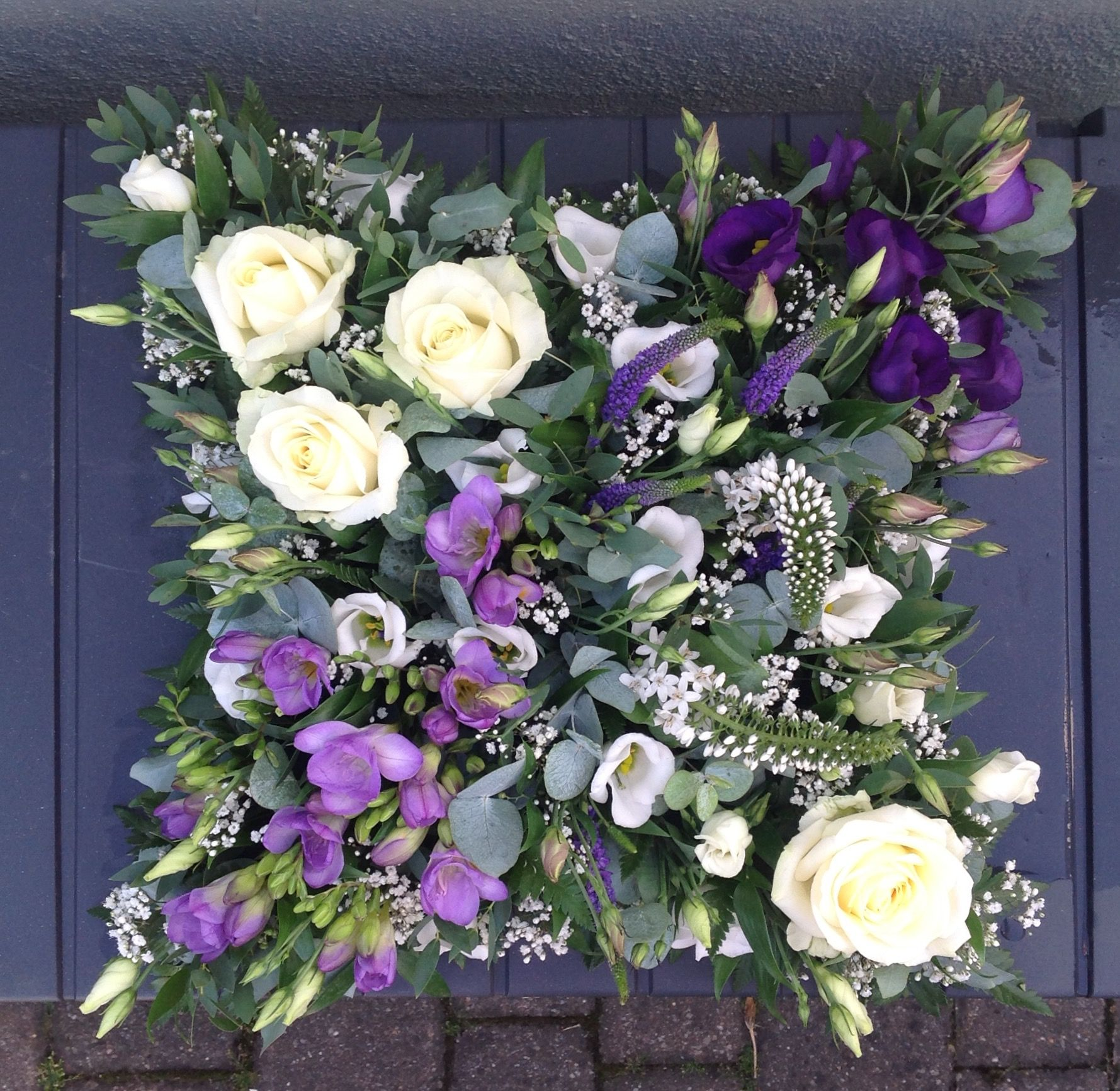 Loose Cushion Funeral Flowers My Work Pinterest Funeral