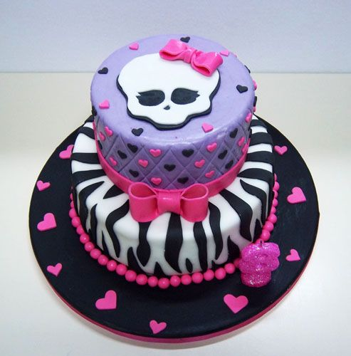 tortas de Monster High Draculaura - Buscar con Google   Tortas ...