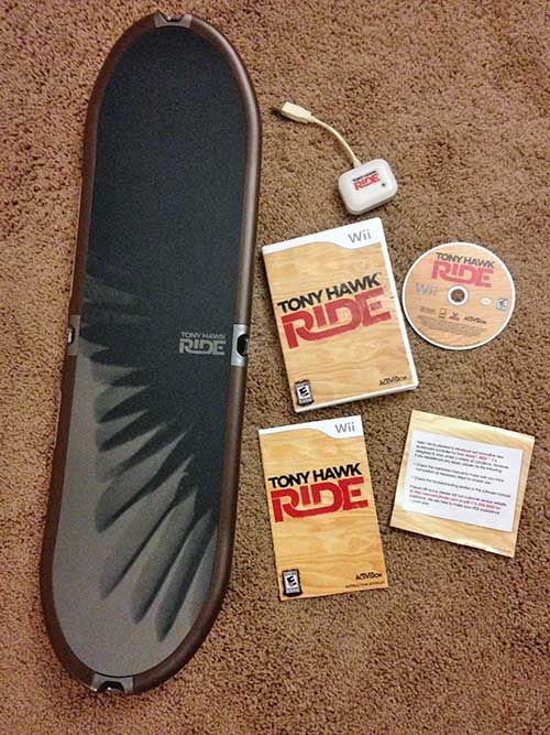 14.99 - Nintendo Wii   Wii U - Tony Hawk  Ride Skateboard Game ... 150ff1dfa88