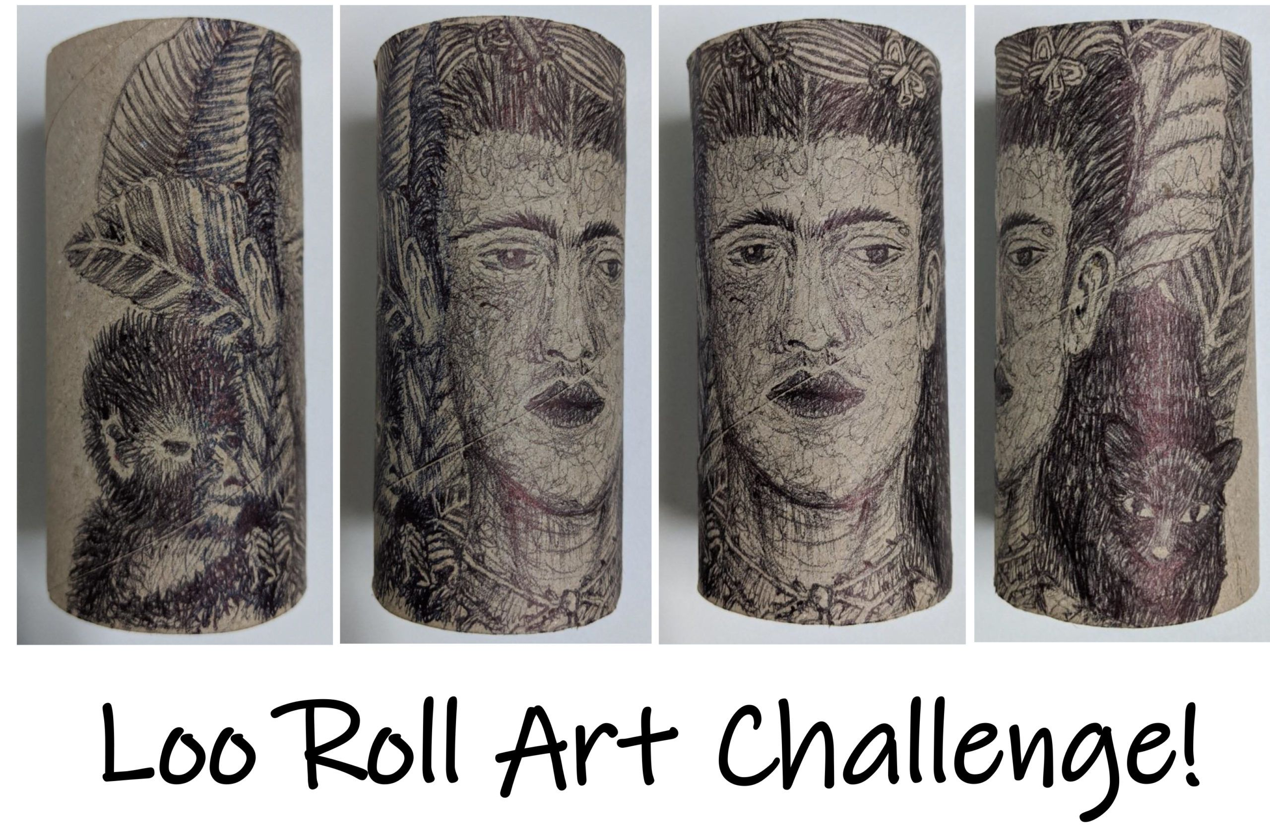Loo Roll Art Challenge In 2020 Art Challenge Distance Learning