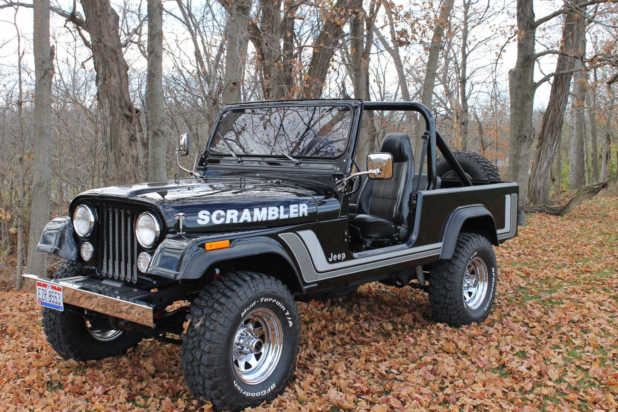 82 jeep cj8 scrambler w novak 5 3l ls engine conversion