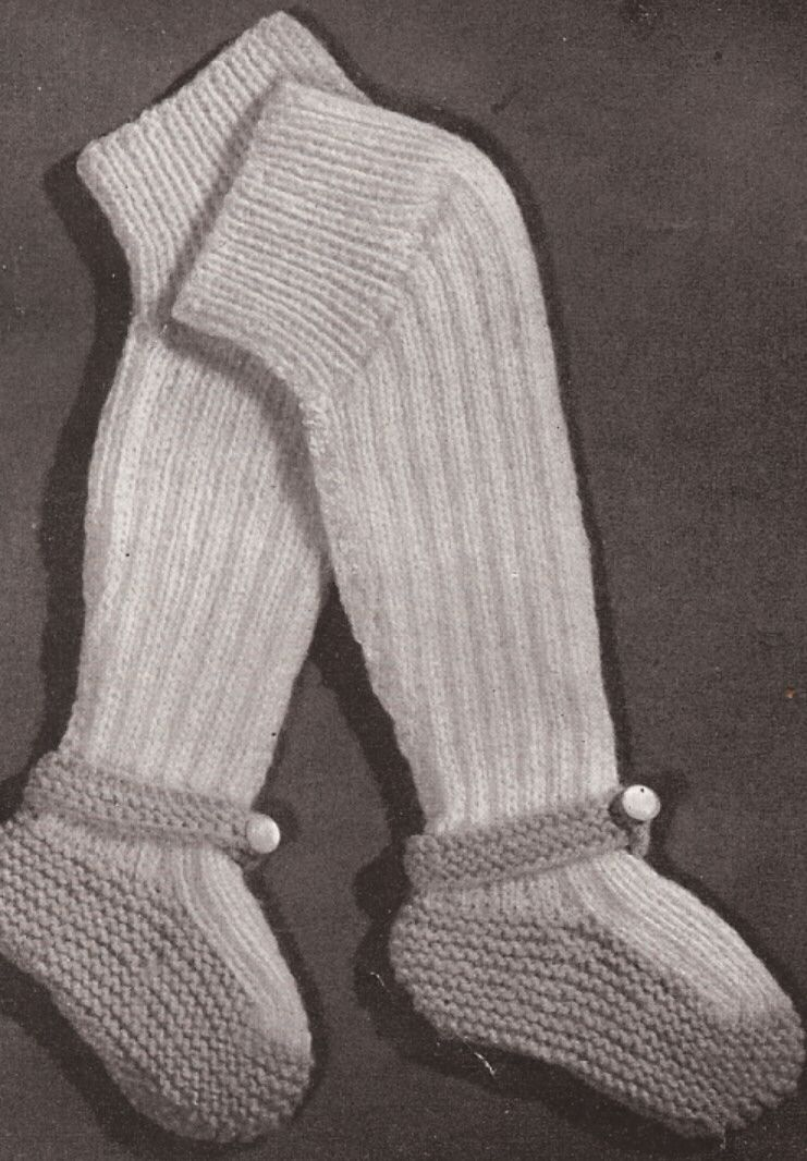 Baby Leggings Vintage Knitting Pattern... Now i just need to learn ...