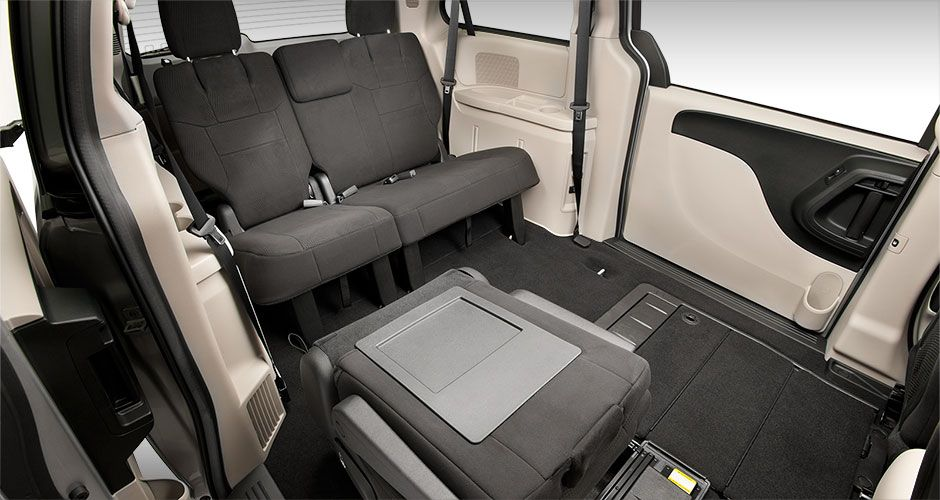 2014 Dodge Grand Caravan With The Available Super Stow N Go