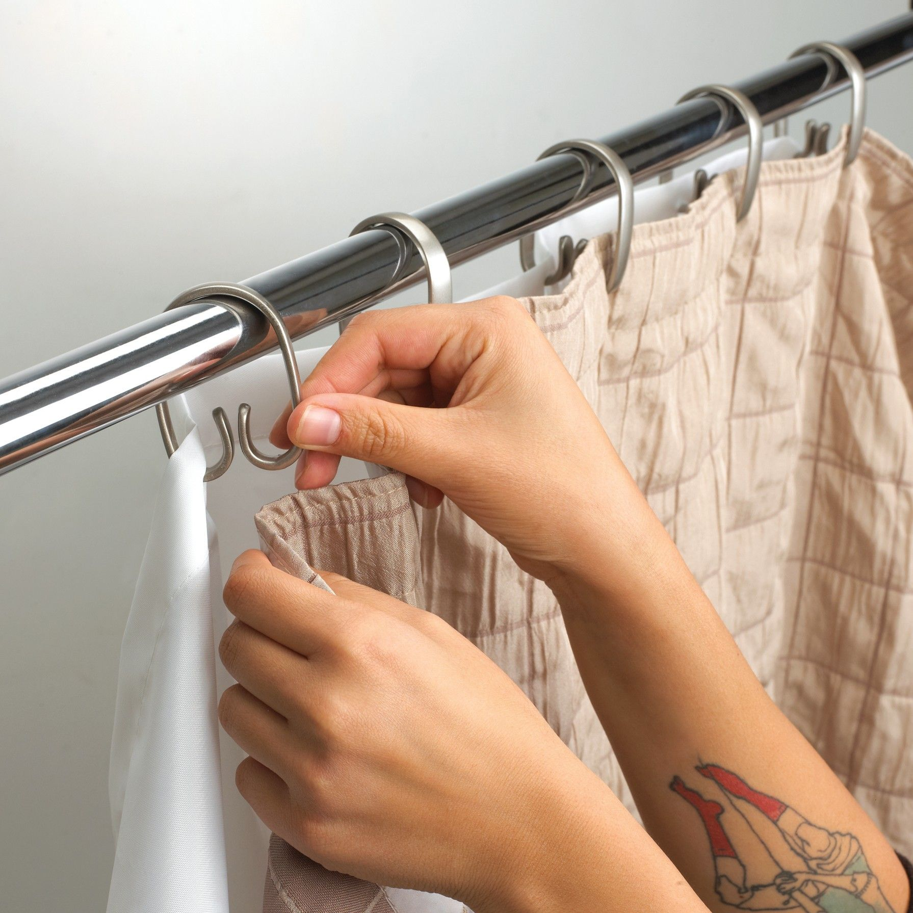 Umbra Cheeky Double Shower Curtain Rings Lication