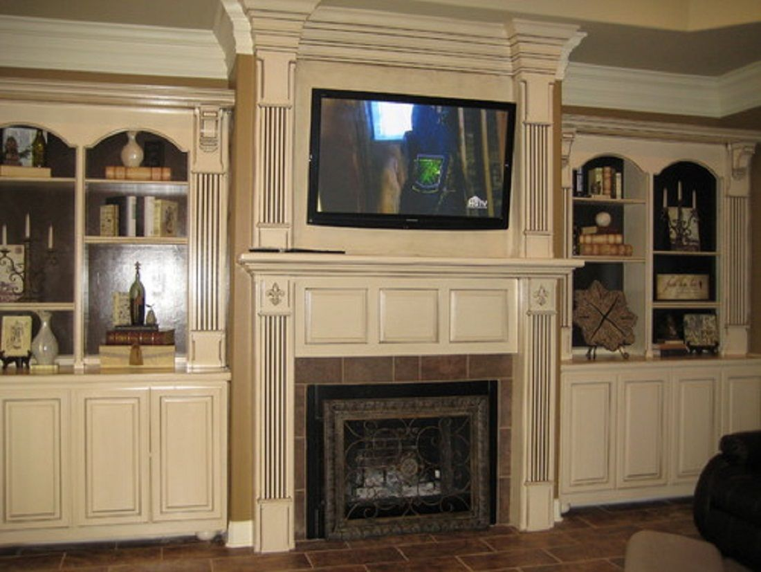 Traditional Home Fireplaces Traditional Fireplace Tv Stands