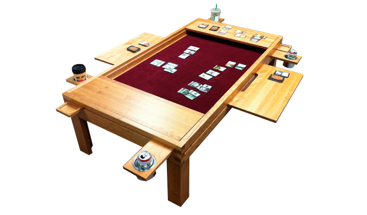 diy gaming tables vs. high-end boutique tables. | geek chic