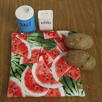 Watermelon Festival  Tater Baker Bag for Microwave