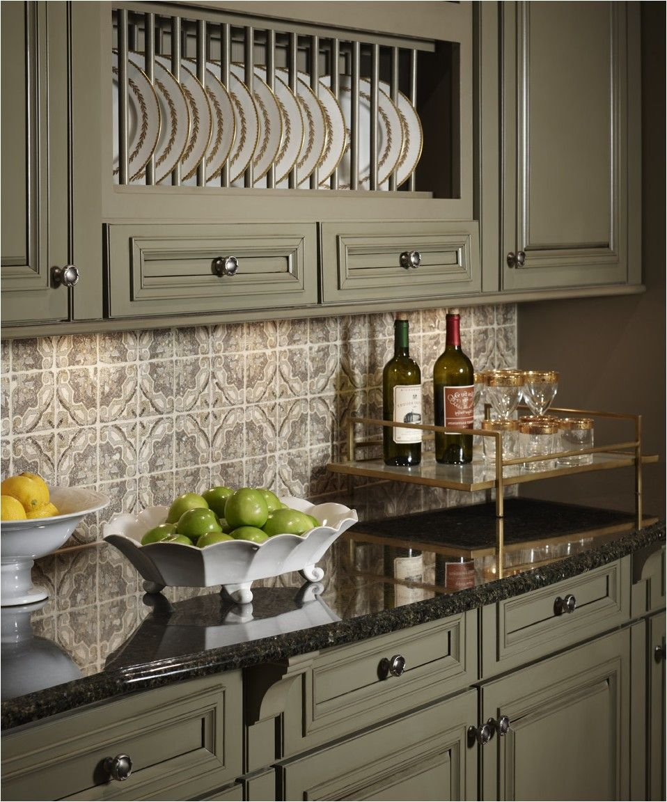 Black Countertop Backsplash Sage 45