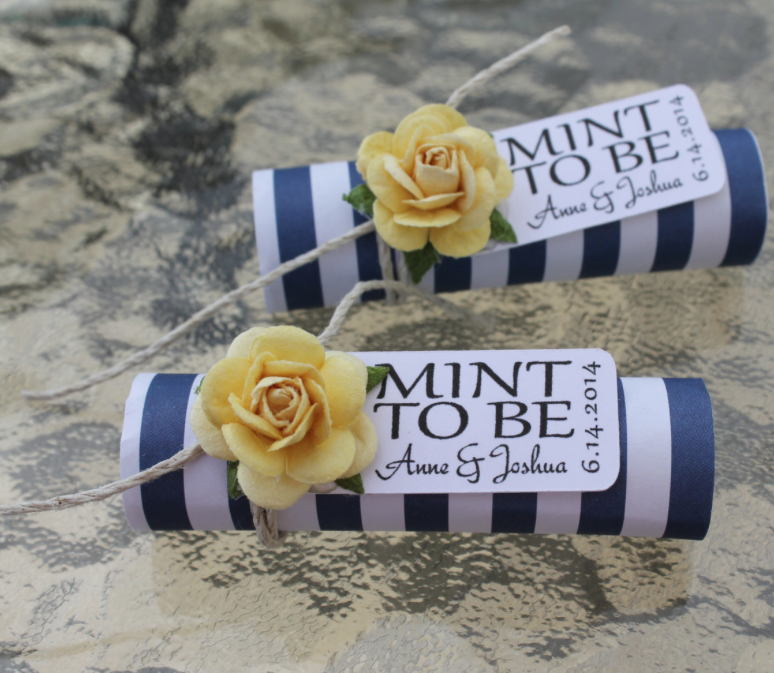 Unique Mint Wedding Favors Wedding planning tips Wedding and