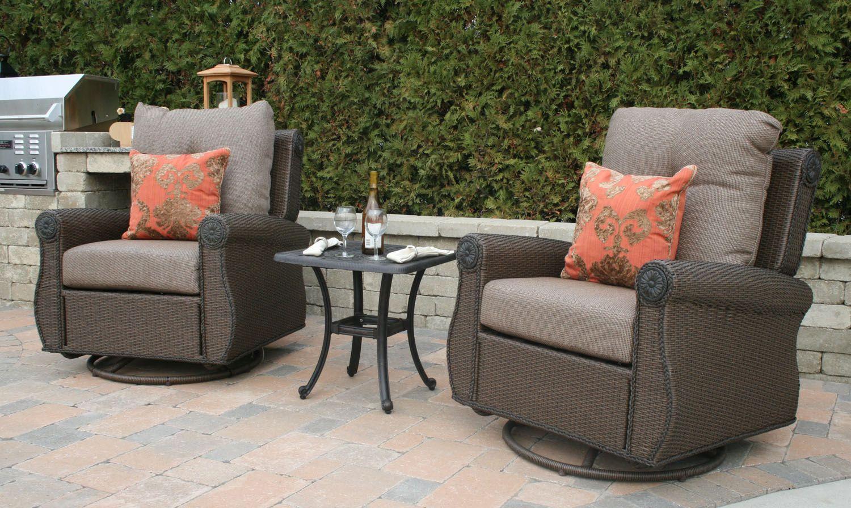resin wicker deep seating outdoor