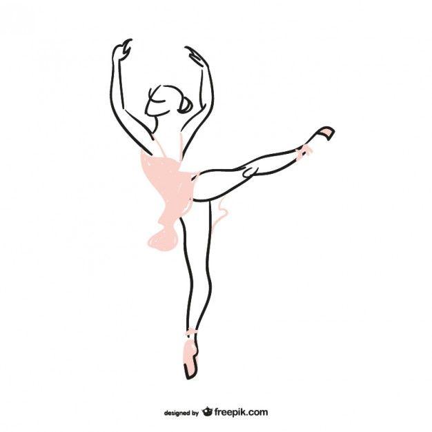 Bailarina silhueta  Ballerina Dancing and Dancers