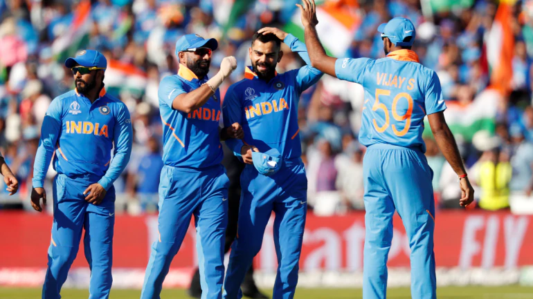 Manchester Is Blue Virat Kohli Flaunts India Support After World Cup Win Over West Indies With Images Live Cricket Streaming Cricket Streaming Live Cricket