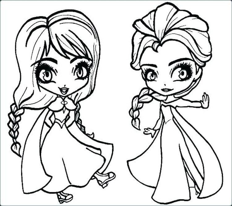 Free Elsa Coloring Pages Printable In 2020 Elsa Coloring Pages Frozen Coloring Pages Princess Coloring Pages