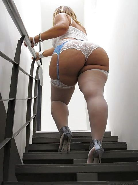 Bbw Ass In Stockings