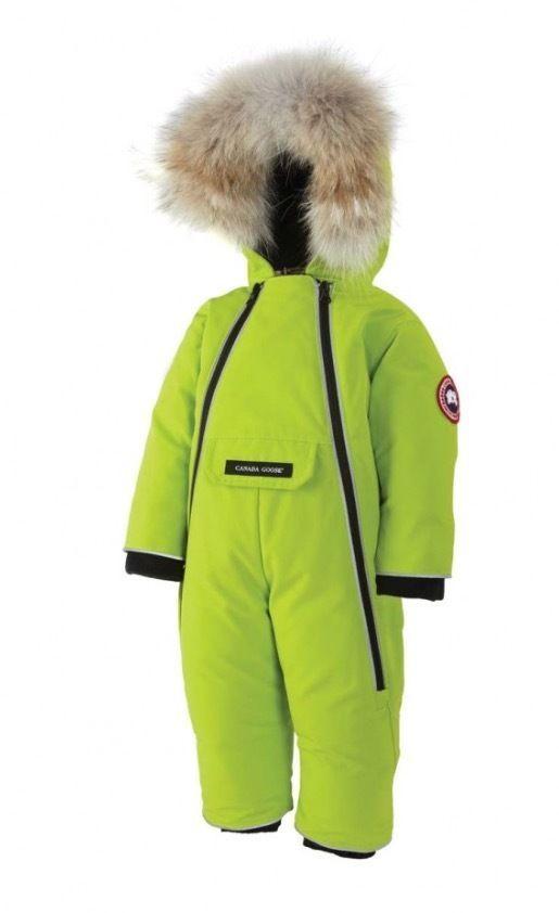 Canada Goose Baby SnowSuit Chica