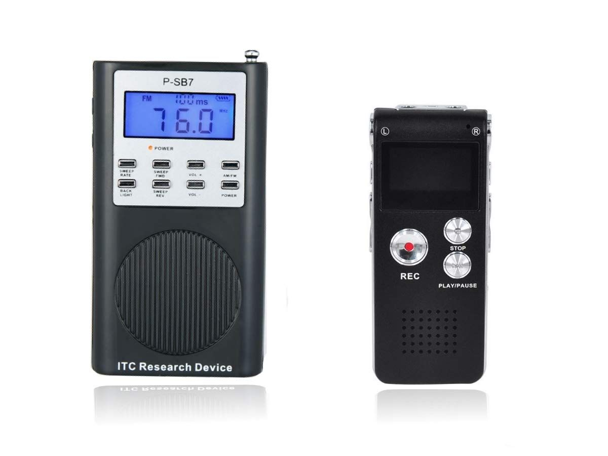 Ghost Hunting EVP Digital Recorder Paranormal Equipment Spirit Voice Hunt 8GB