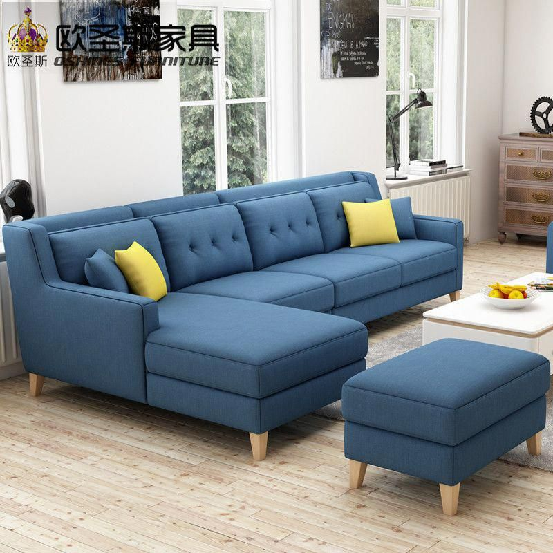 New Arrival American Style Simple Latest Design Sectional L Shaped Corner Living Room Modern Furniture Living Room Living Room Sofa Design Living Room Sofa Set