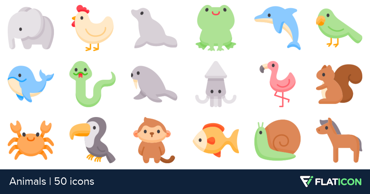 50 free vector icons of Animals designed by Freepik