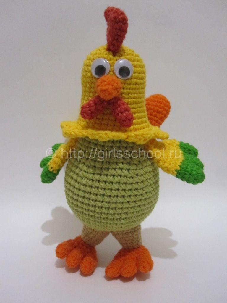 gancho del gallo: El esquema y la descripción http://girlsschool.ru ...