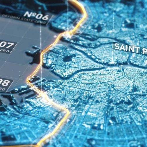 #adobe #aftereffects #design #3d #cg #motiondesign #hud #ui #map...