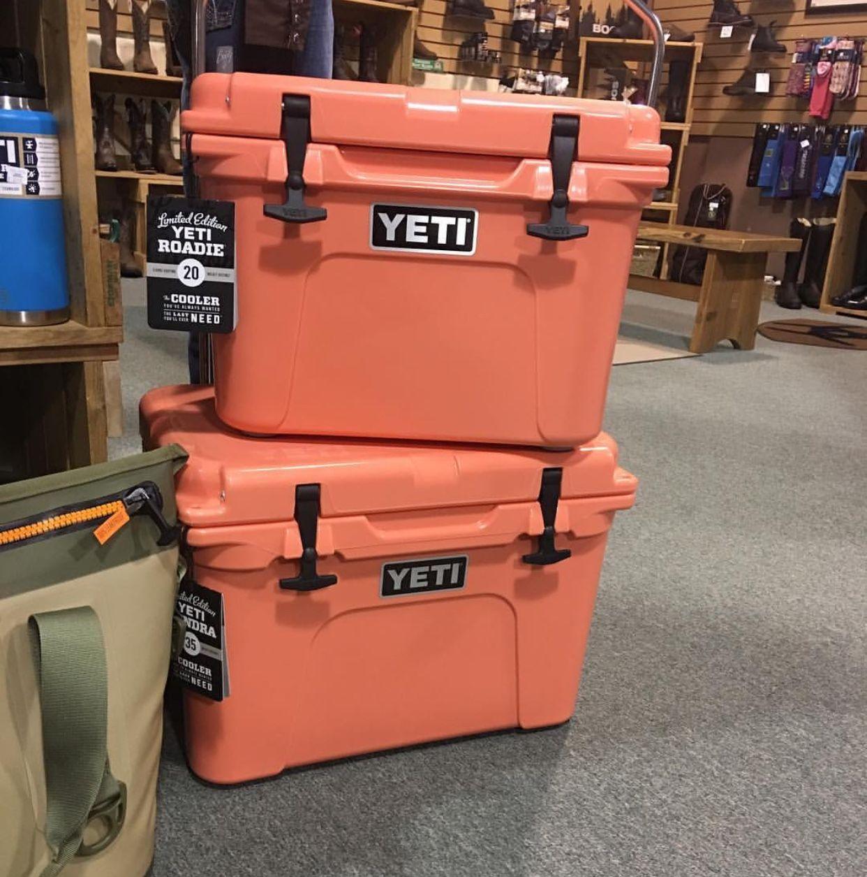 Love The New Coral Yeti Color Yeti Stickers Yeti Yeti Roadie
