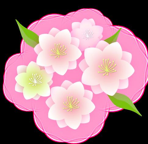 桃の花イラスト 桃の花 イラスト 花 イラスト 桃の花