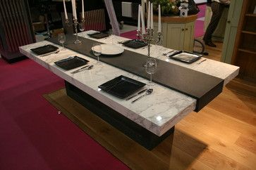 Stone Table For Grand Designs Show Contemporary Dining Tables