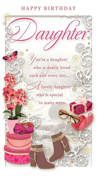 Daughter Birthday Cards Unique List Happy birthday