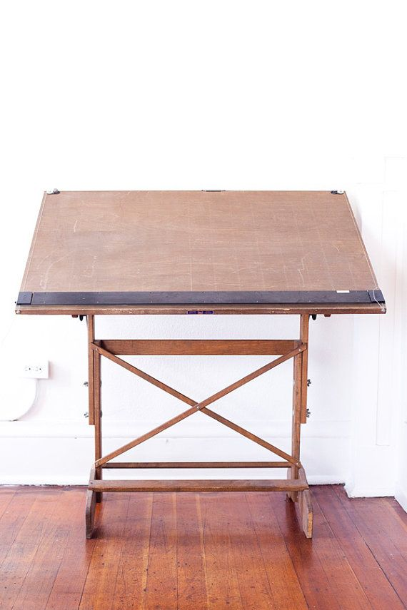 RARE 30u0027s Mayline Drafting Table By Glassdeer On Etsy, $320.00