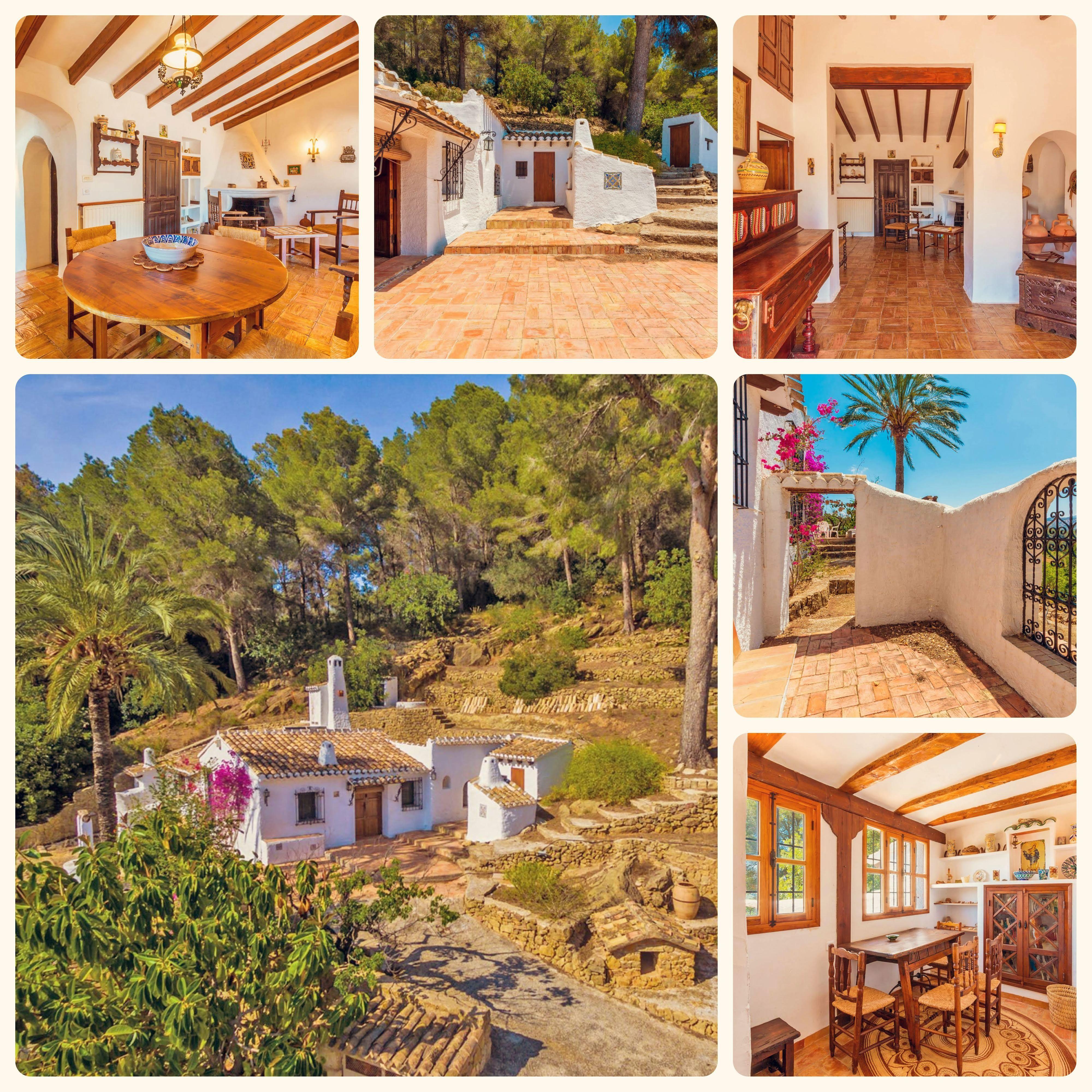 Country House For Sale In Jesús Pobre Landhuis Te Koop In Jésus Pobre 295 000 Casacasa Costablanca Eu Property 60433 Casacasacostab House Spain Costa Blanca