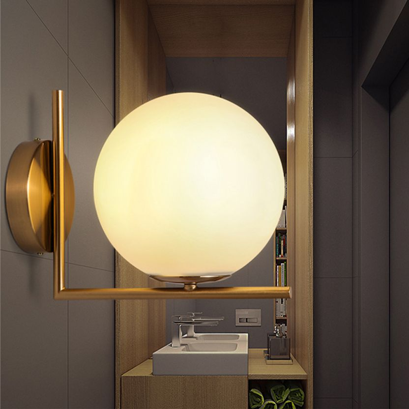 Led E14 Nordic Alloy Glass Led Lamp Led Light Wall Lamp Wall Light Wall Sconce Outdoor Lamp For Foyer Bedroom Cor Wall Lamp Modern Wall Lamp Outdoor Wall Lamps