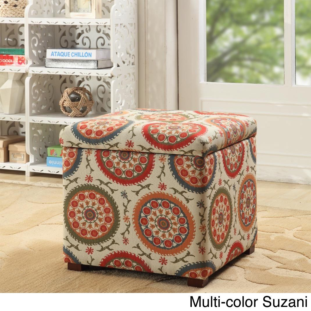 Phenomenal Homepop Fashion Storage Ottoman Overstock Com Shopping Squirreltailoven Fun Painted Chair Ideas Images Squirreltailovenorg