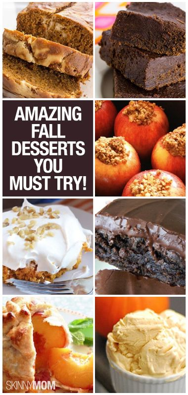 Here are the perfect 8 seasonal desserts!  Style On Picture Healthy