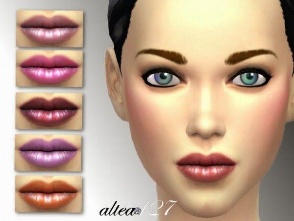 Altea127 SimsVogue: Lipstick n°005 • Sims 4 Downloads