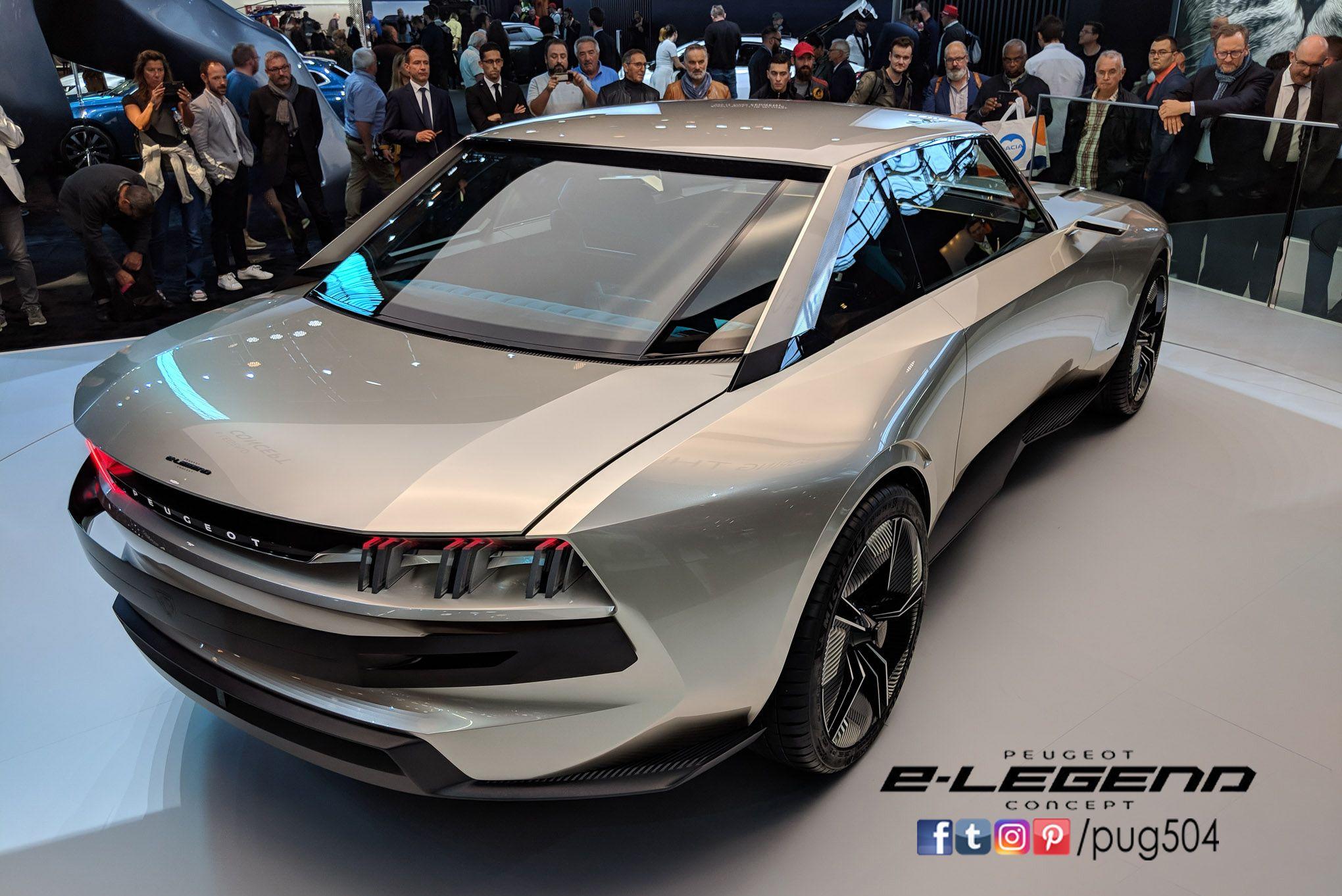 Peugeot 504 Coupe E Legend Concept Paris Motor Show 2018